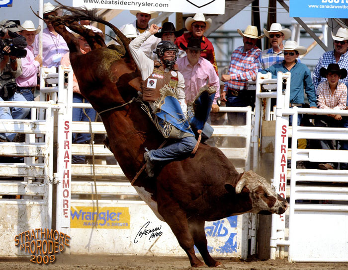 Bucking Bulls Outlaw Buckers Rodeo Corp
